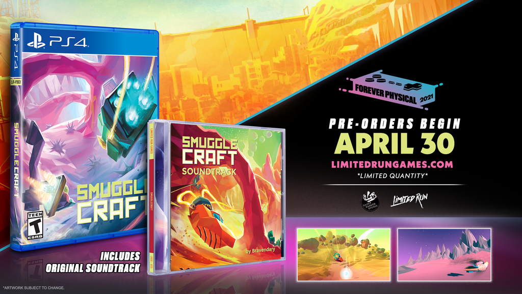 Limited Run #402: SmuggleCraft Soundtrack Bundle (PS4)