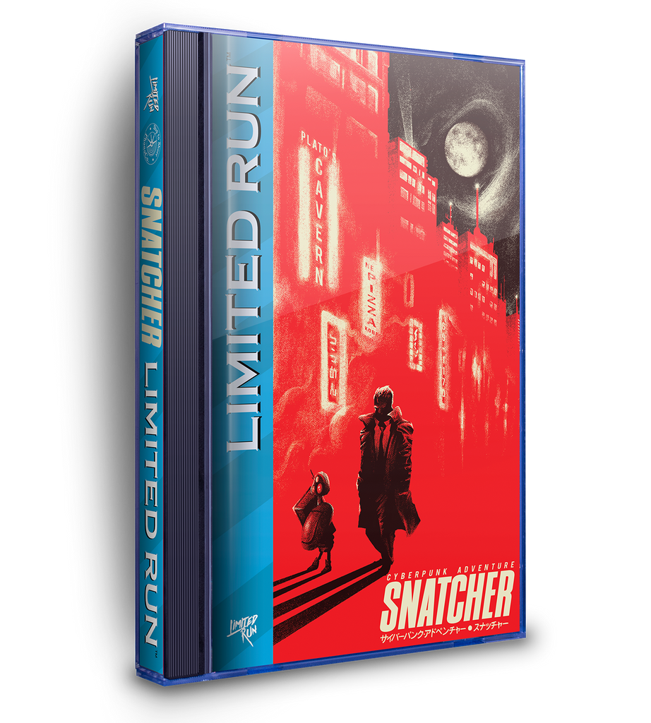 Snatcher Sega CD Case Soundtrack (PAX Exclusive)
