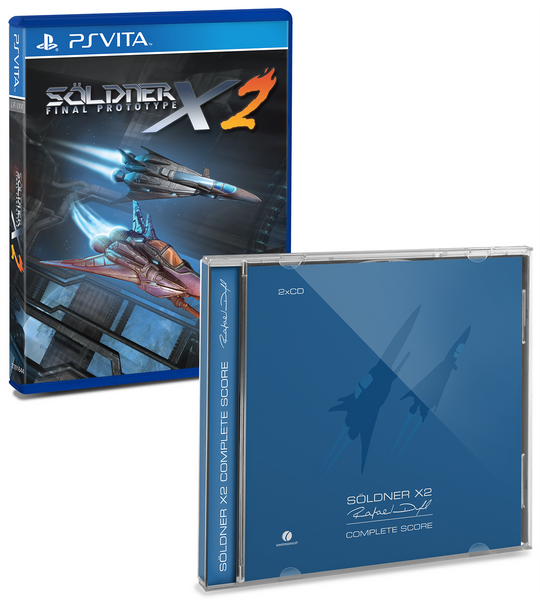 Limited Run #13: Söldner-X 2 Soundtrack Bundle (Vita)