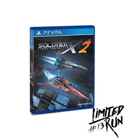 Limited Run #13: Söldner-X 2: Final Prototype (Vita)