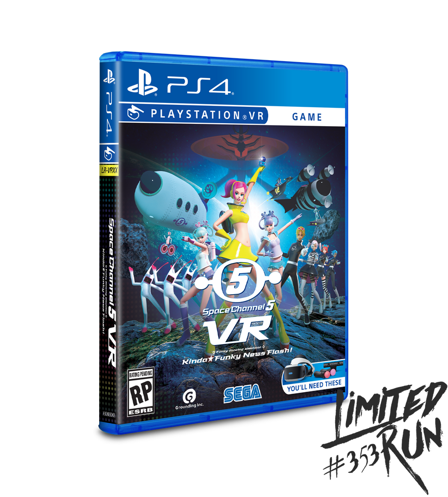 Limited Run #353: Space Channel 5 VR Kinda Funky News Flash! (PS4) [PREORDER]