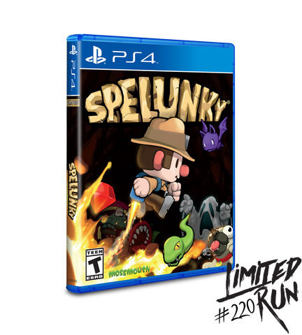 Limited Run #220: Spelunky (PS4)
