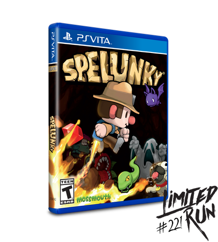 Limited Run #221: Spelunky (Vita)