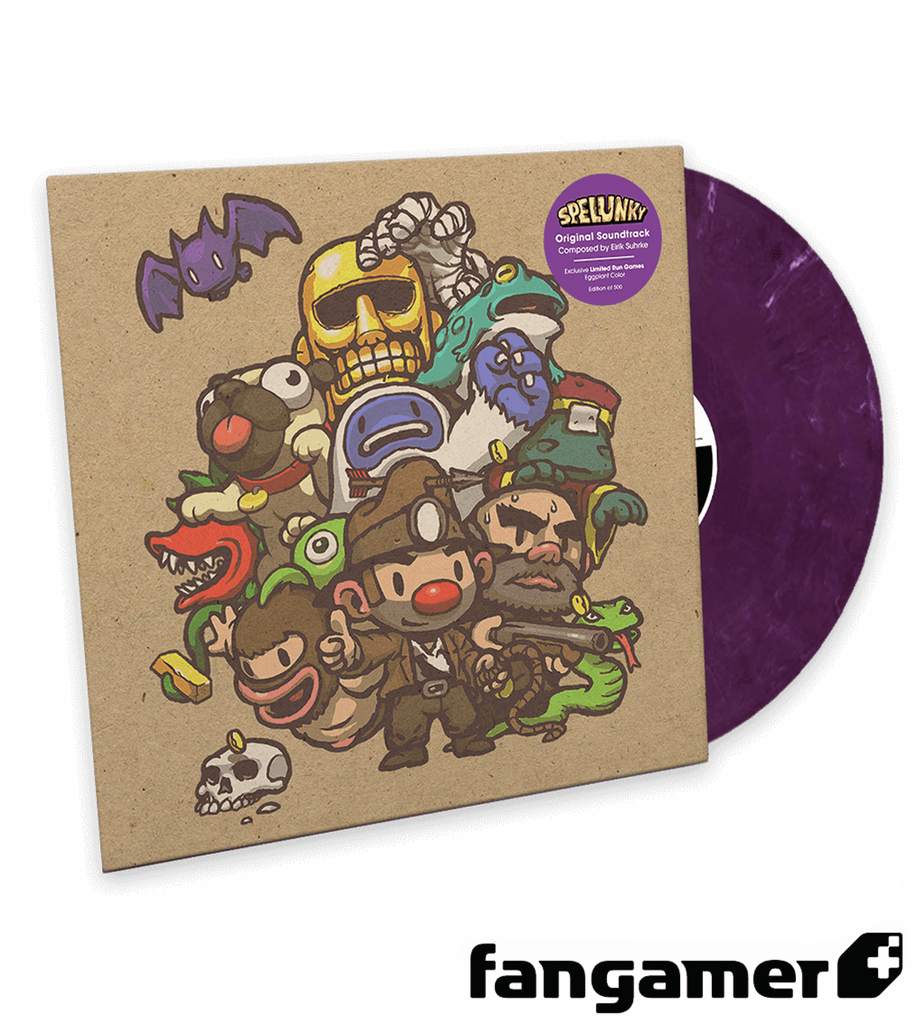 Spelunky Vinyl Soundtrack LRG Exclusive