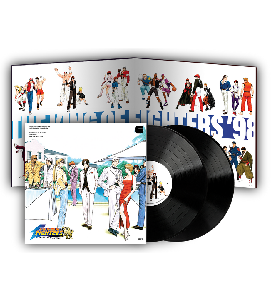 The King of Fighters '98 2LP Soundtrack Vinyl [PREORDER]