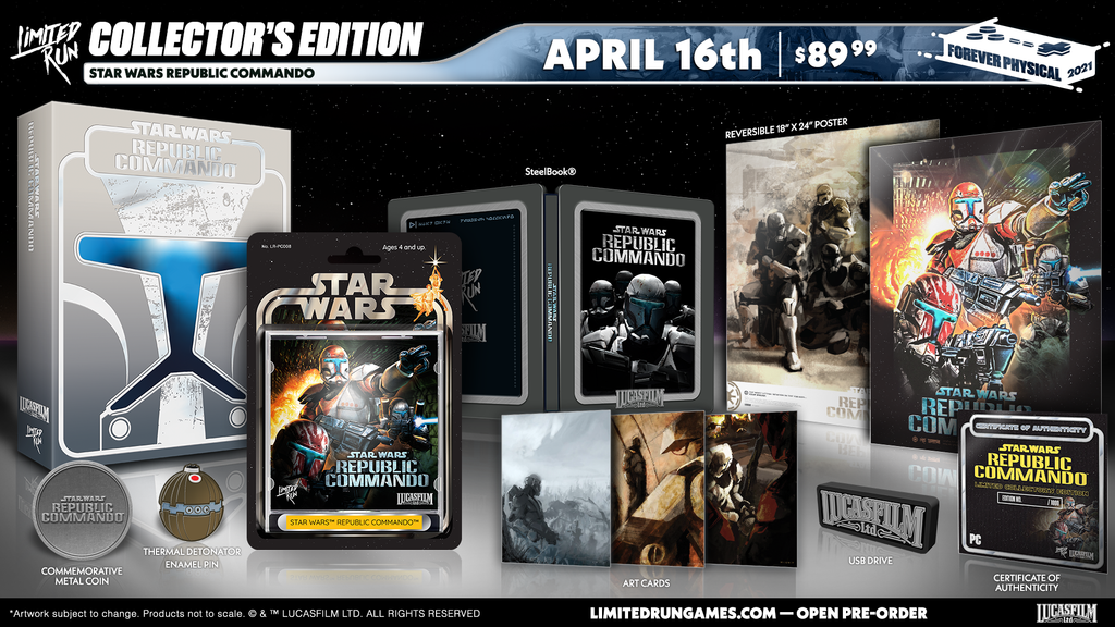 Star Wars: Republic Commando (PC) Premium Edition