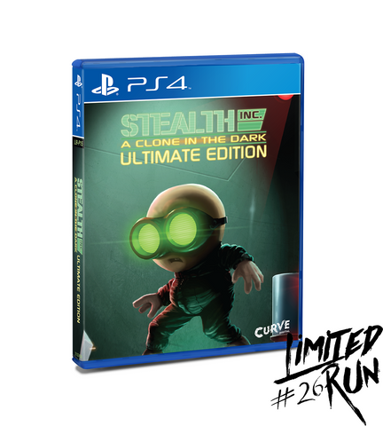 Limited Run #26: Stealth Inc. Ultimate Edition (PS4)
