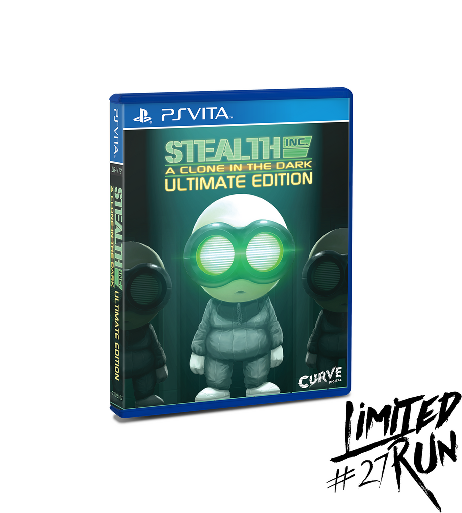 Limited Run #27: Stealth Inc. Ultimate Edition (Vita)