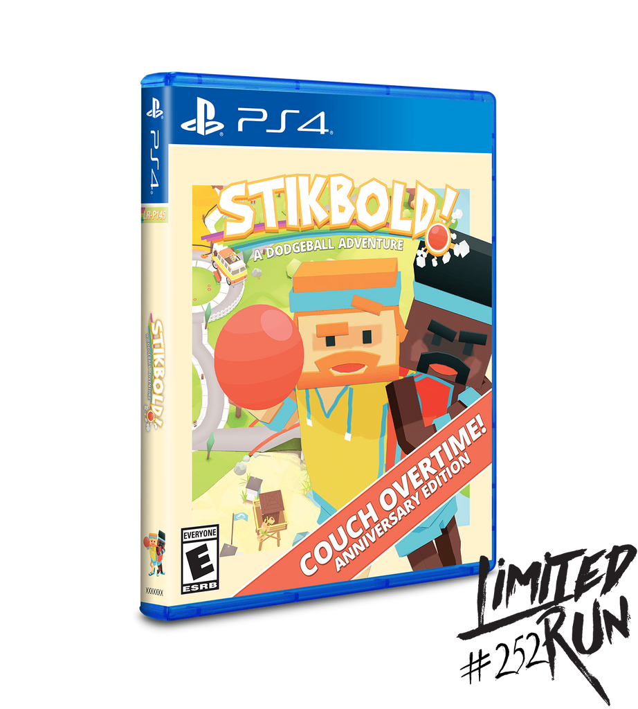 Limited Run #252: Stikbold (PS4)