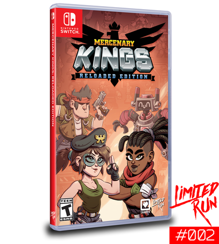 Switch Limited Run #2: Mercenary Kings [PREORDER]