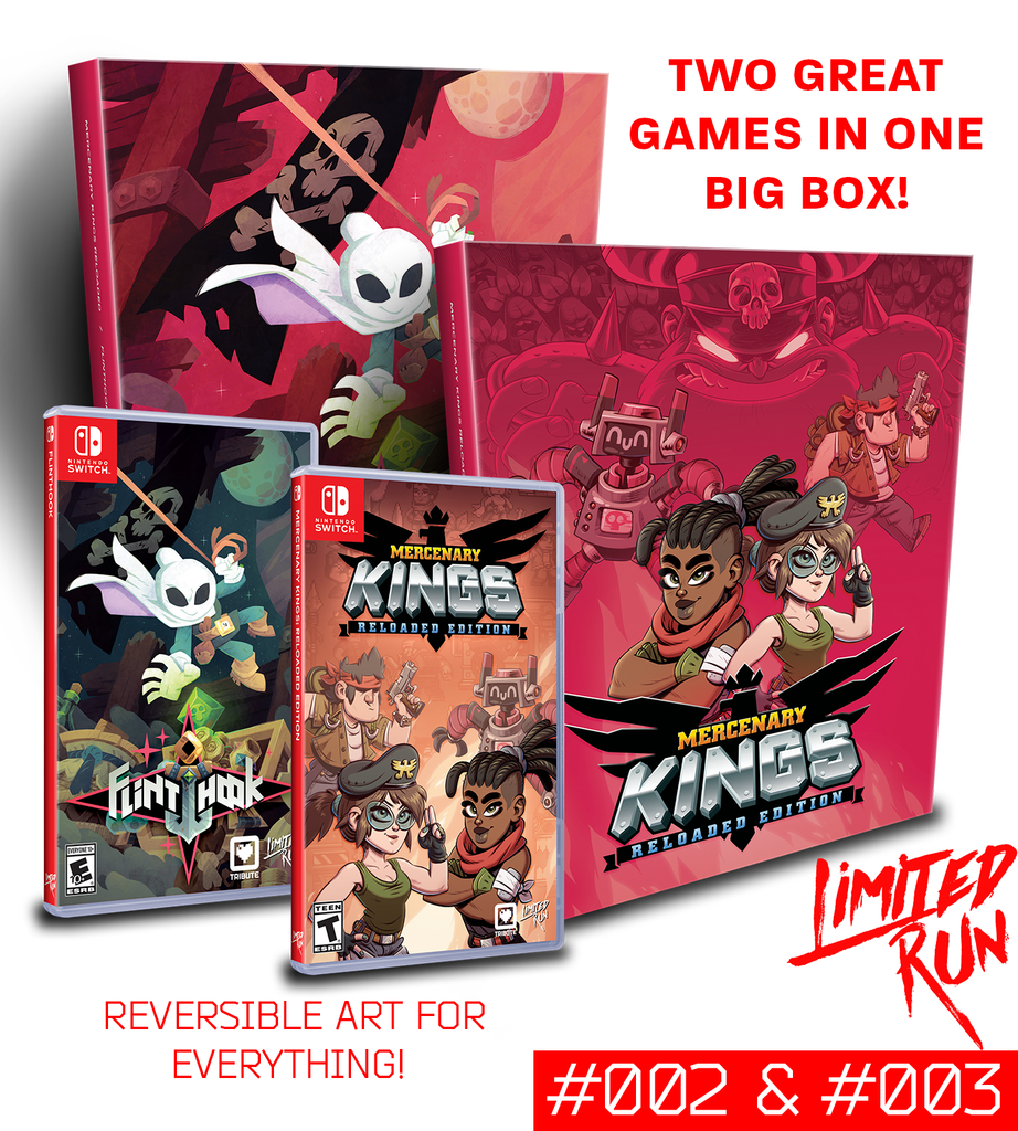 Switch Limited Run #2 + #3: The Tribute Treasure Box [PREORDER]