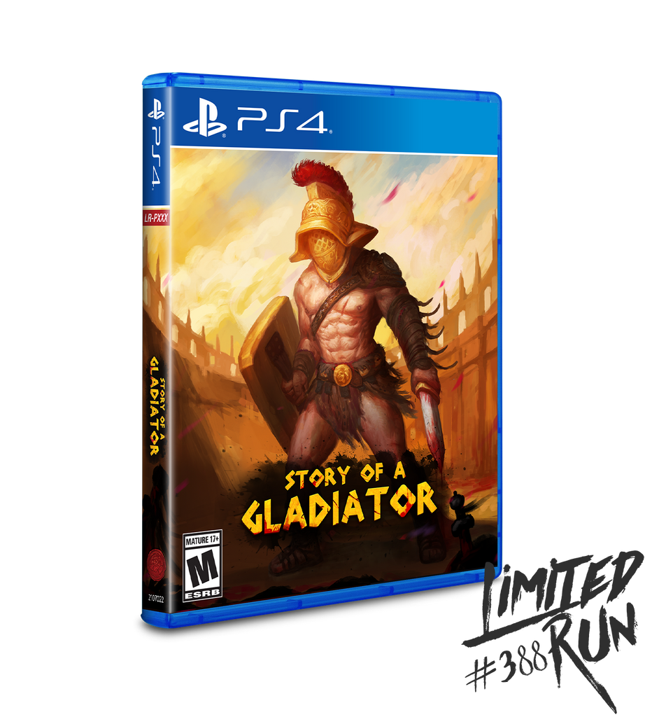 Limited Run #388: Story of a Gladiator (PS4)