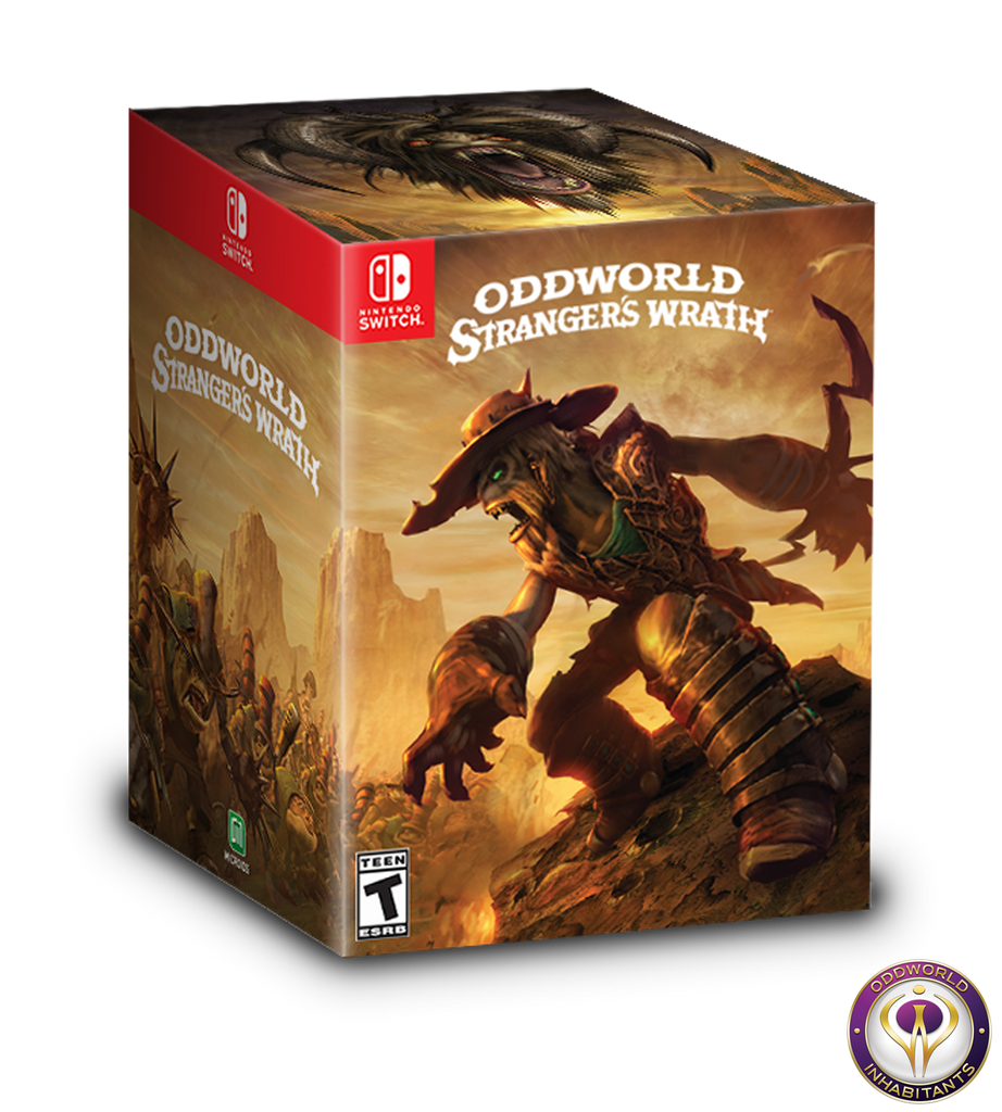 Oddworld: Stranger's Wrath HD Collector's Edition (Switch)