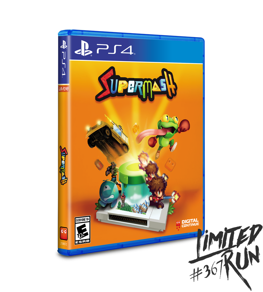 Limited Run #367: SuperMash (PS4)