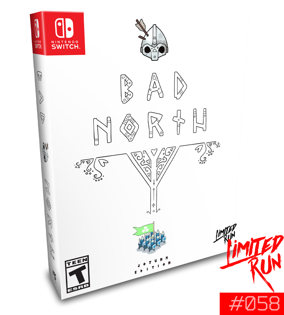 Switch Limited Run #58: Bad North Collector's Edition