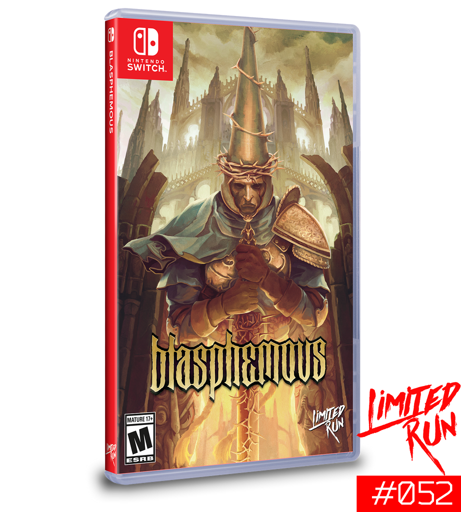 Switch Limited Run #52: Blasphemous [PREORDER]