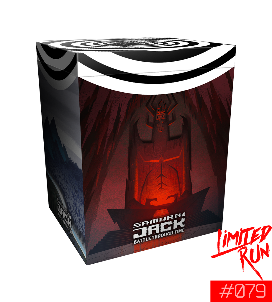 Switch Limited Run #79: Samurai Jack: Battle Through Time Collector's Edition