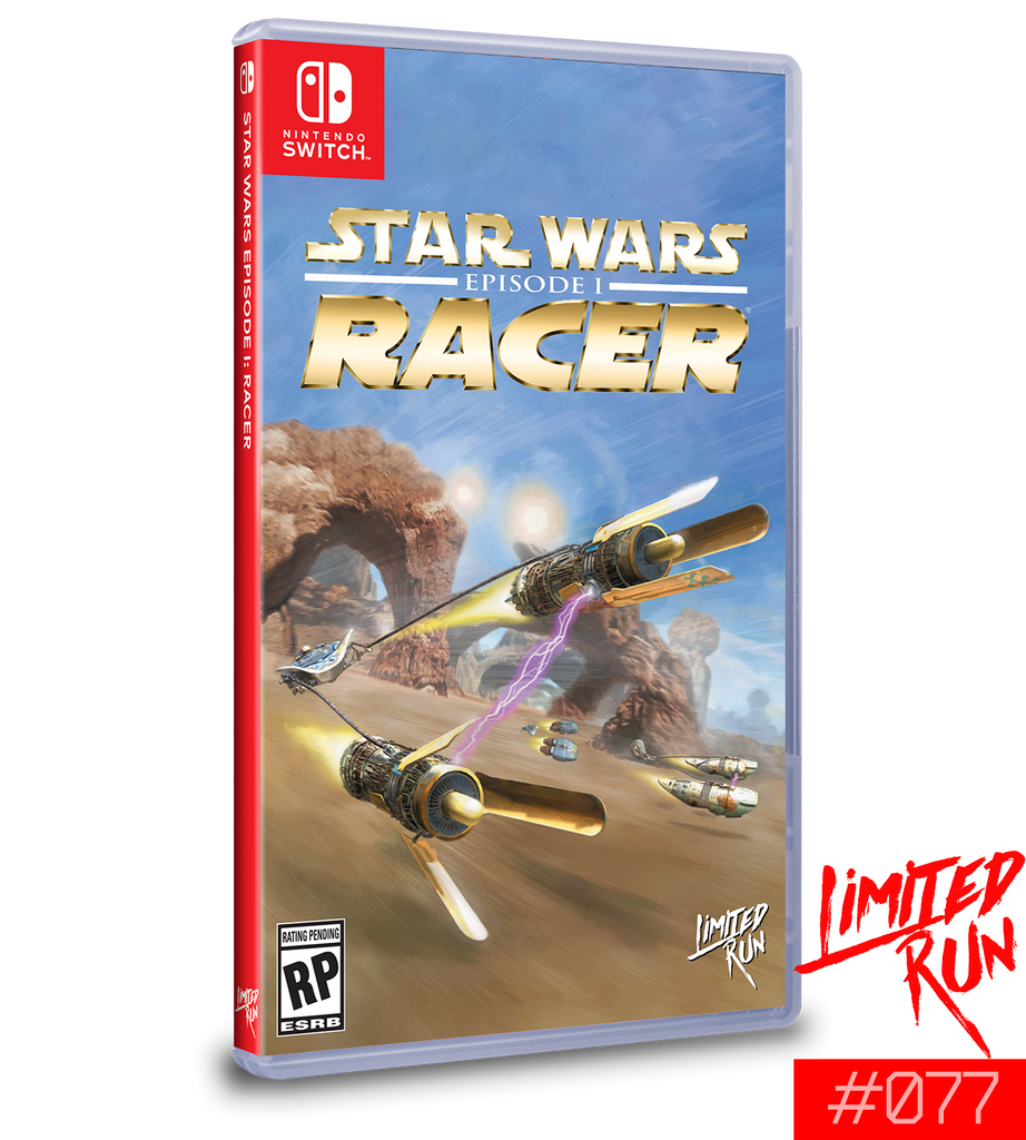 Switch Limited Run #77: Star Wars Episode I: Racer [PREORDER]