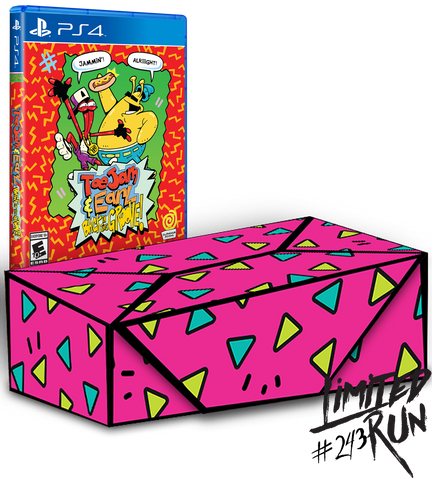 Limited Run #243: ToeJam & Earl: Back in the Groove Collector's Edition (PS4) [PREORDER]