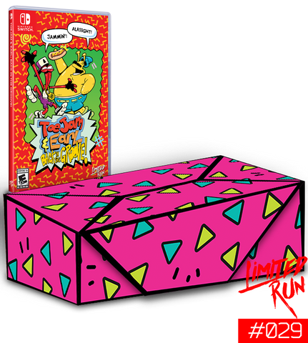 Switch Limited Run #29: ToeJam & Earl: Back in the Groove Collector's Edition [PREORDER]