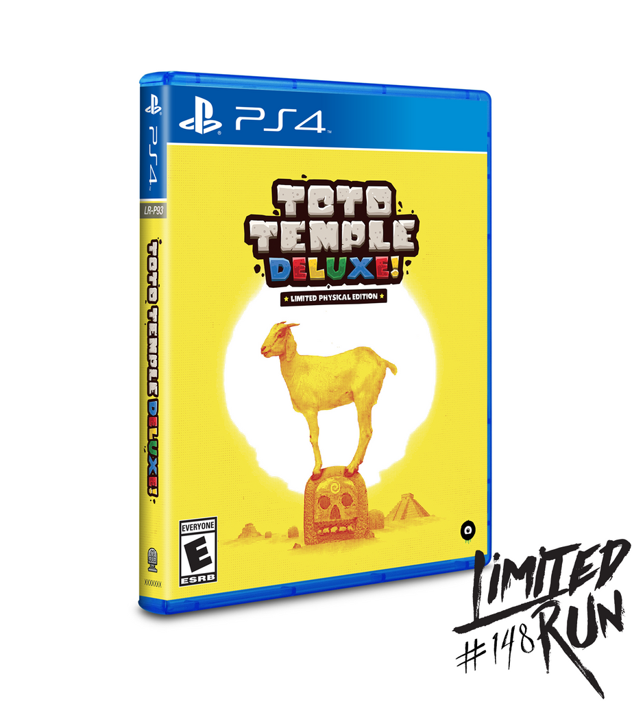 Limited Run #148: Toto Temple Deluxe (PS4)