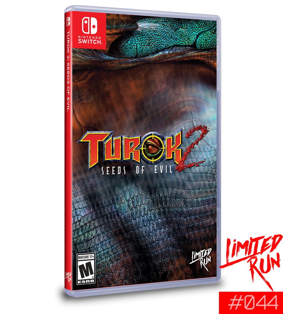 Switch Limited Run #44: Turok 2: Seeds of Evil