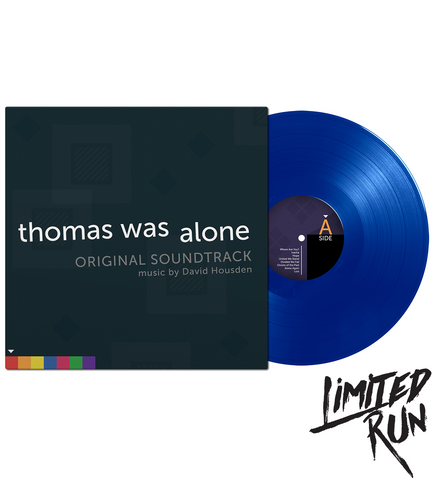 Thomas Was Alone Soundtrack Vinyl - Limited Run Exclusive