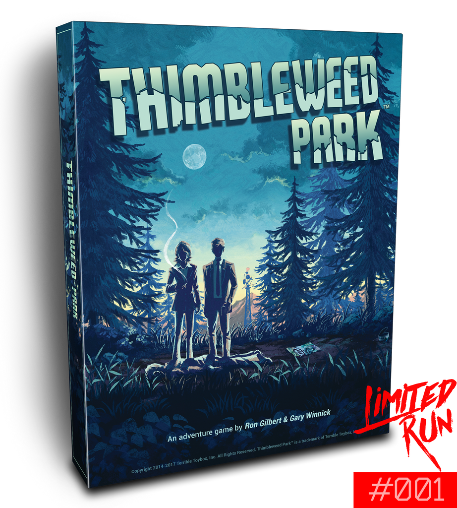 Switch Limited Run #1: Thimbleweed Park Big Box Edition [PREORDER]