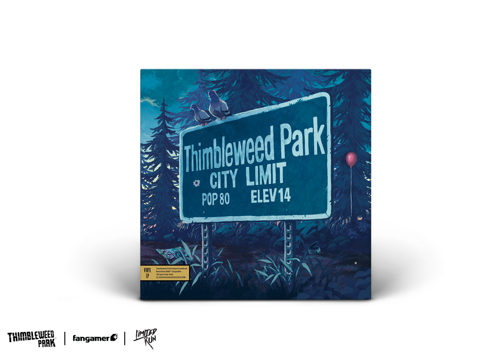 Thimbleweed Park Vinyl Soundtrack Limited Run Exclusive