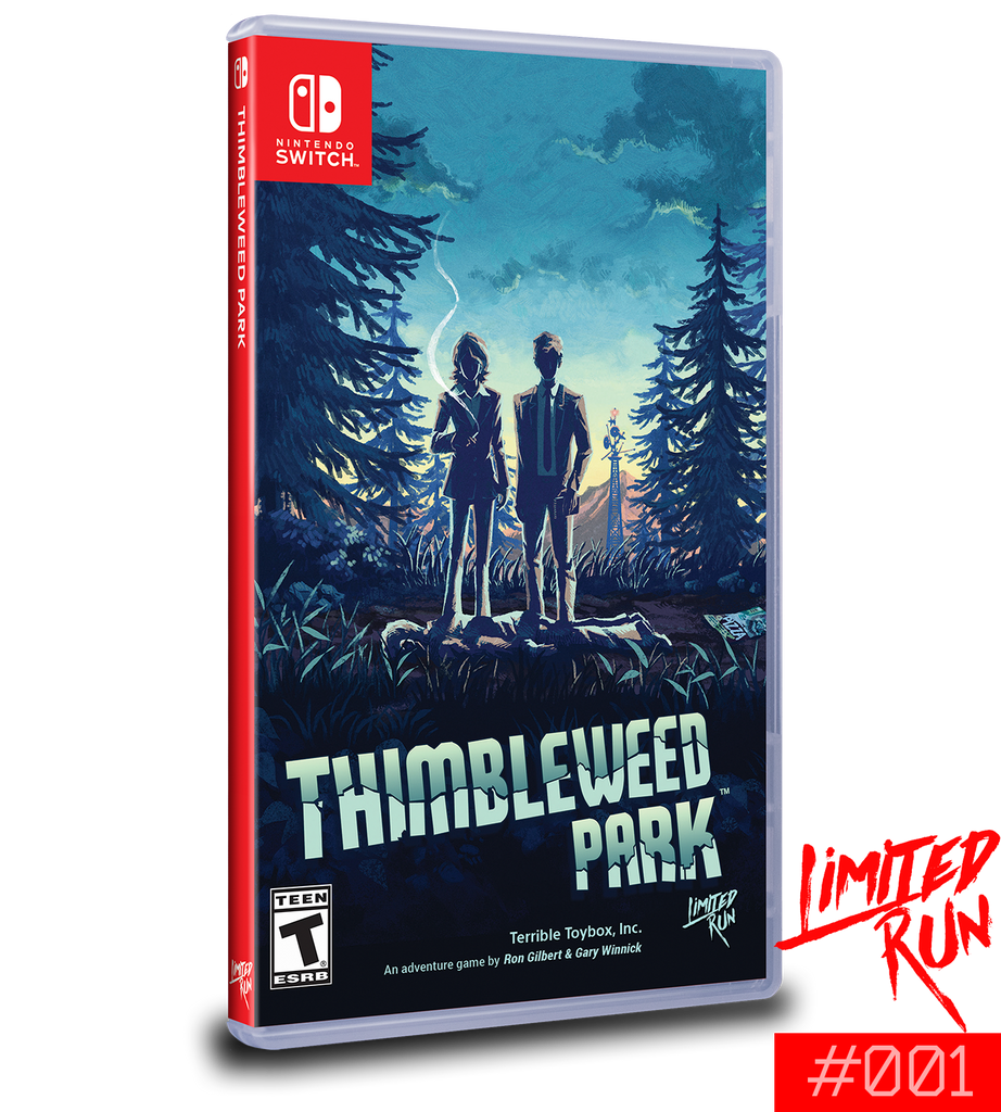 Switch Limited Run #1: Thimbleweed Park [PREORDER]