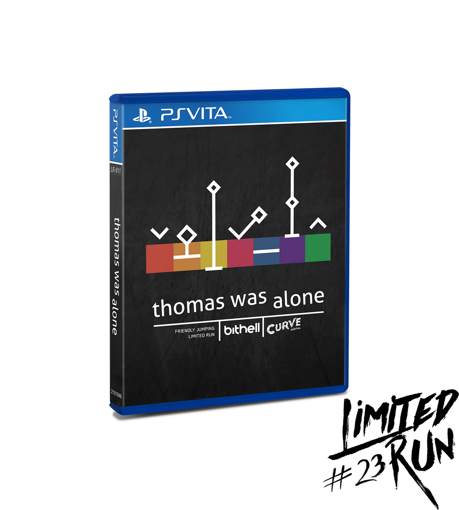 Limited Run #23: Thomas Was Alone (Vita)