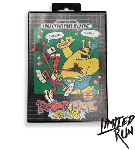 ToeJam & Earl Collectible Retro Case
