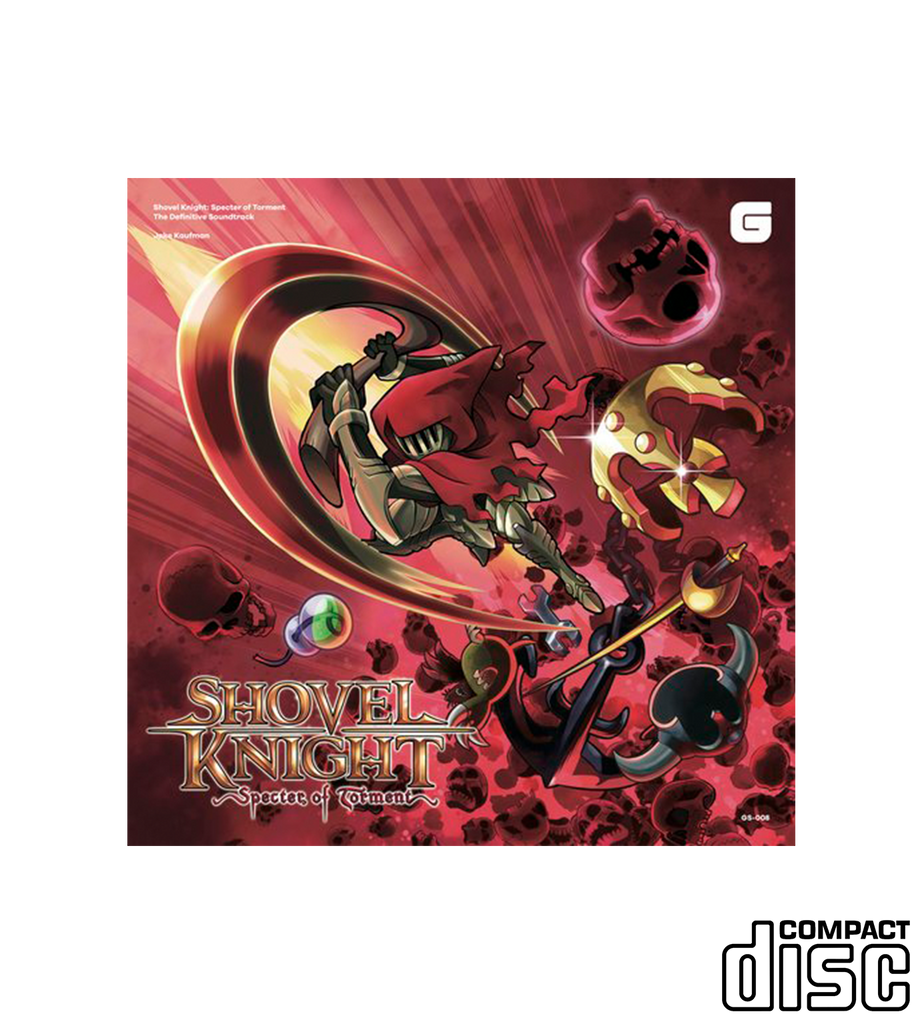 Shovel Knight: Specter of Torment The Definitive Soundtrack (CD or Vinyl)