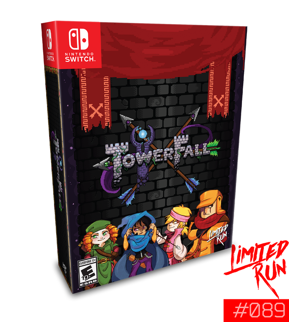 Switch Limited Run #89: TowerFall Collector's Edition