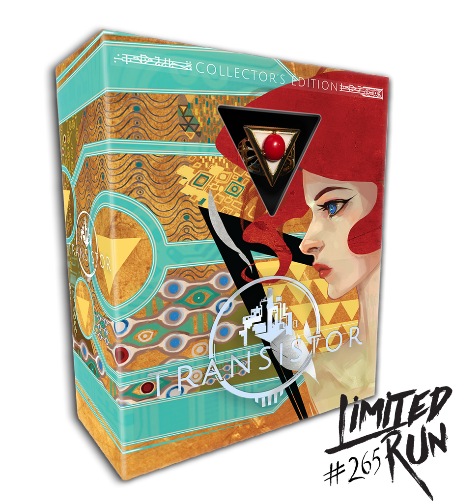 Limited Run #265: Transistor Collector's Edition (PS4) [PREORDER]
