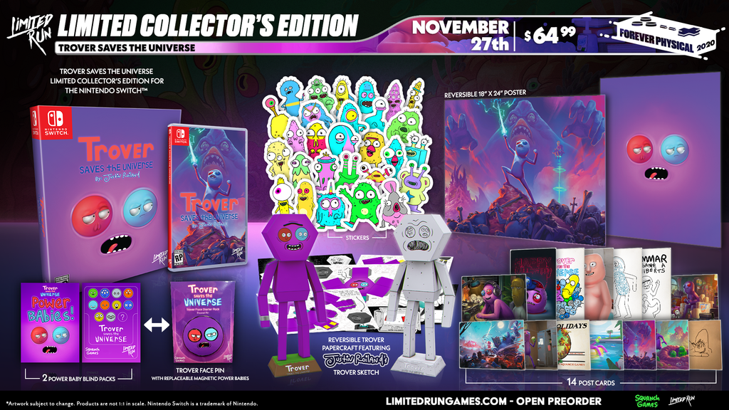 Switch Limited Run #90: Trover Saves the Universe Collector's Edition