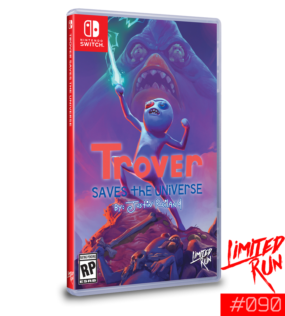 Switch Limited Run #90: Trover Saves the Universe