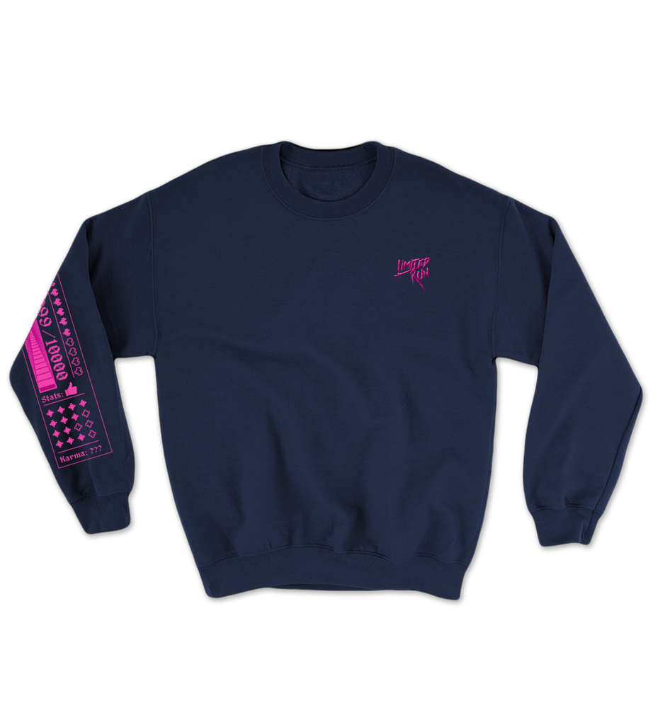 Limited Run Games January 2021 Monthly Crewneck