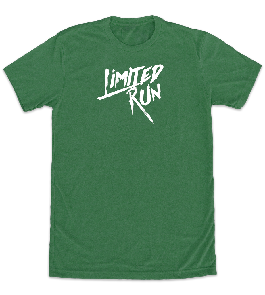 Limited Run T-Shirt (Green/White)