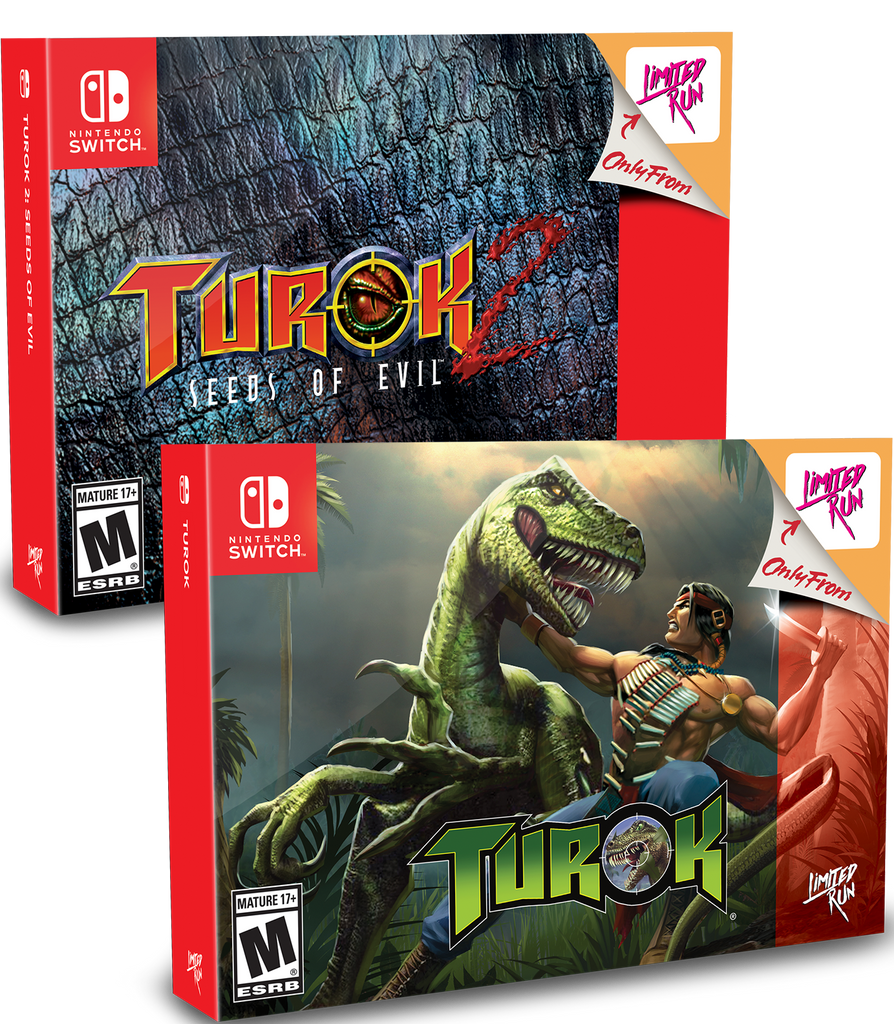 Switch Limited Run #43 & #44: Turok Classic Edition Bundle