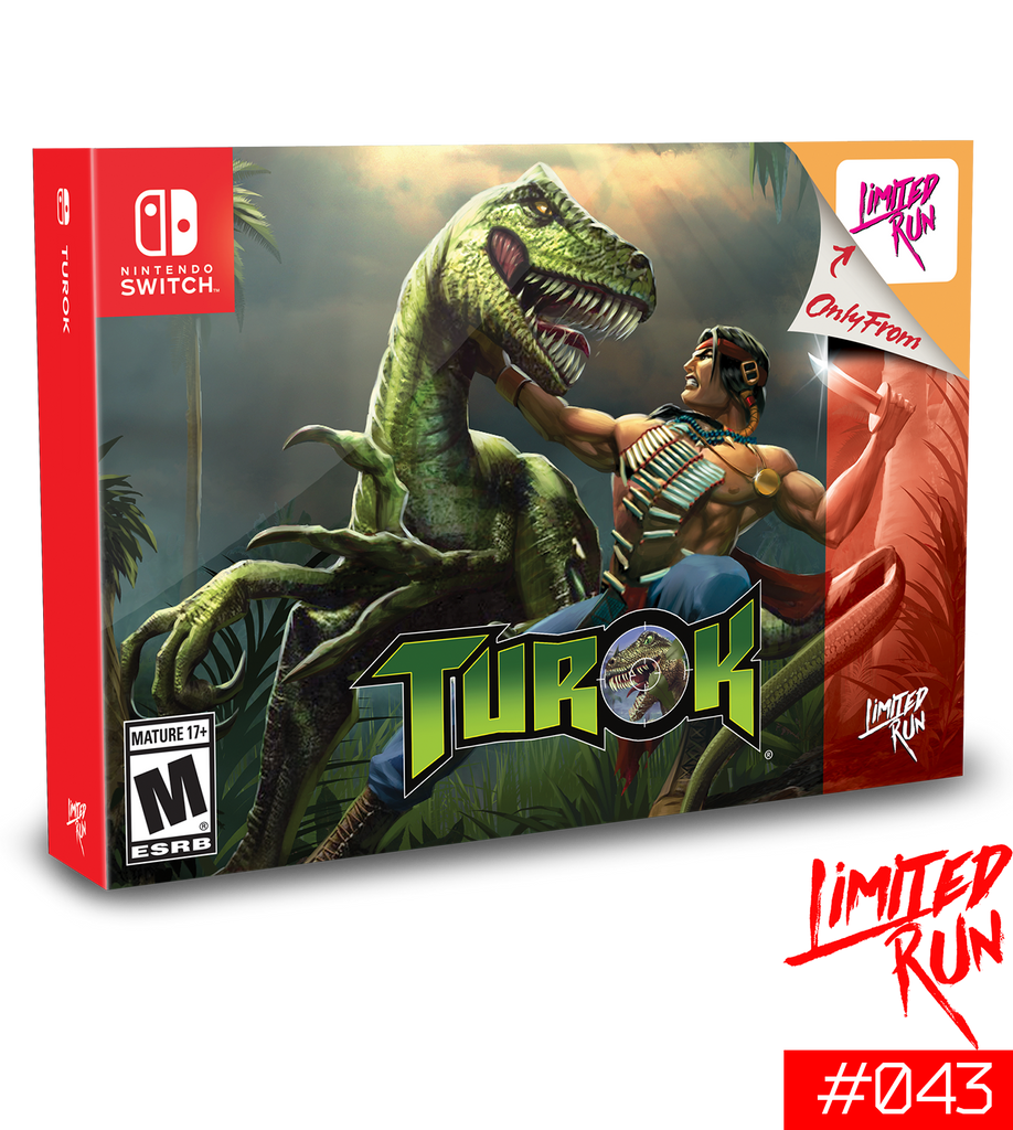 Switch Limited Run #43: Turok Classic Edition