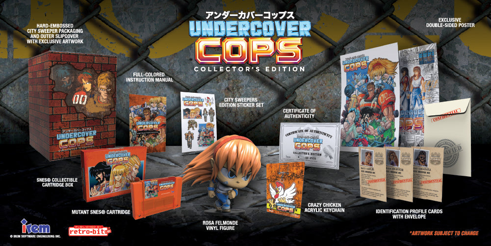 Undercover Cops Collector's Edition (SNES)