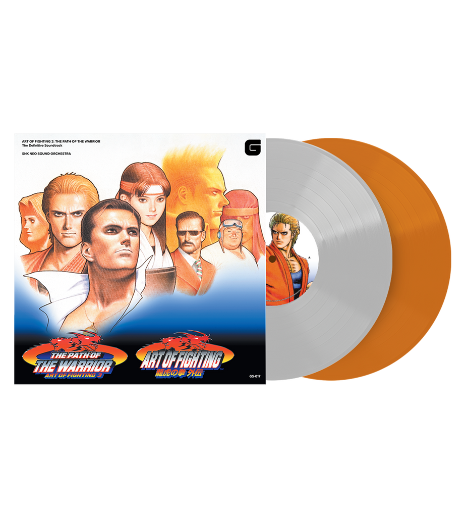 ART OF FIGHTING 3: THE PATH OF THE WARRIOR Soundtrack Vinyl