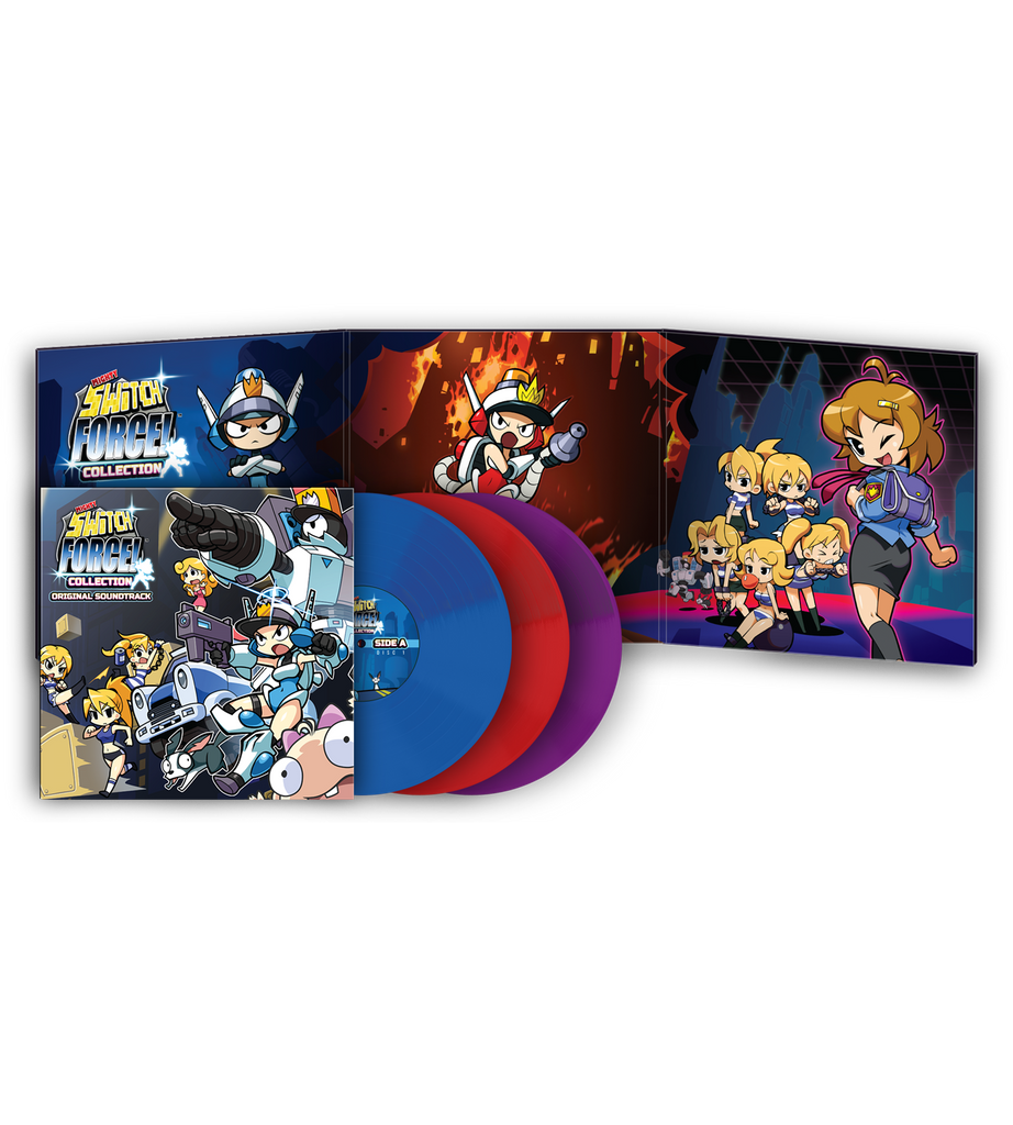 LRV #5: Mighty Switch Force! Collection 3LP Soundtrack