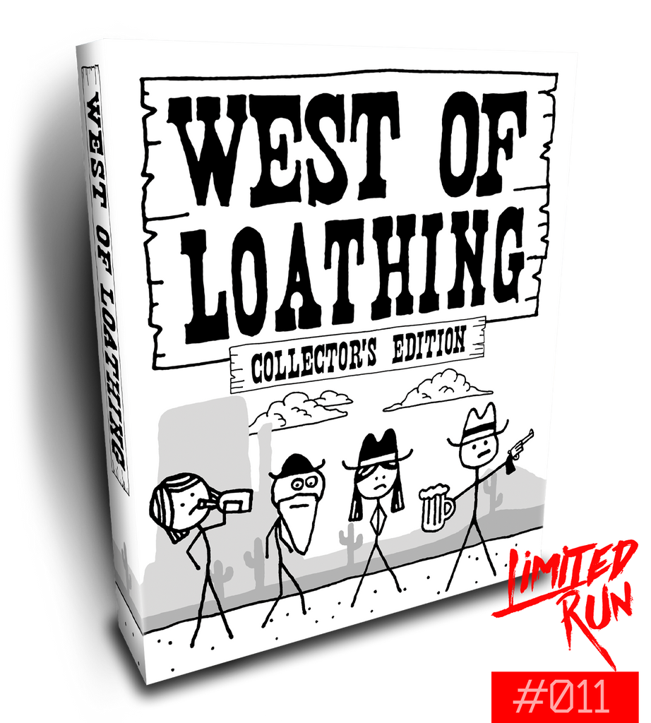 Switch Limited Run #11: West of Loathing Collector's Edition