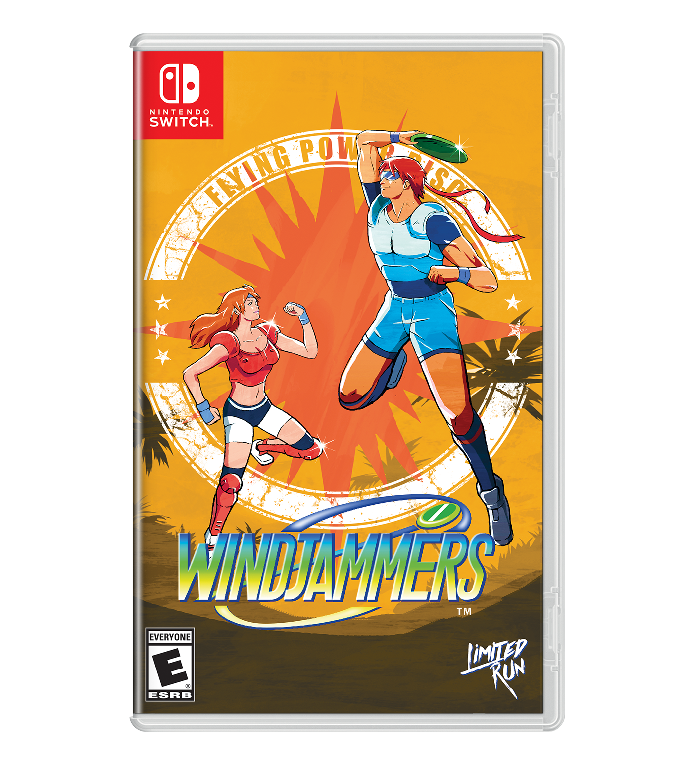 Windjammers Best Buy Exclusive Cover Sheet Limited Run Games