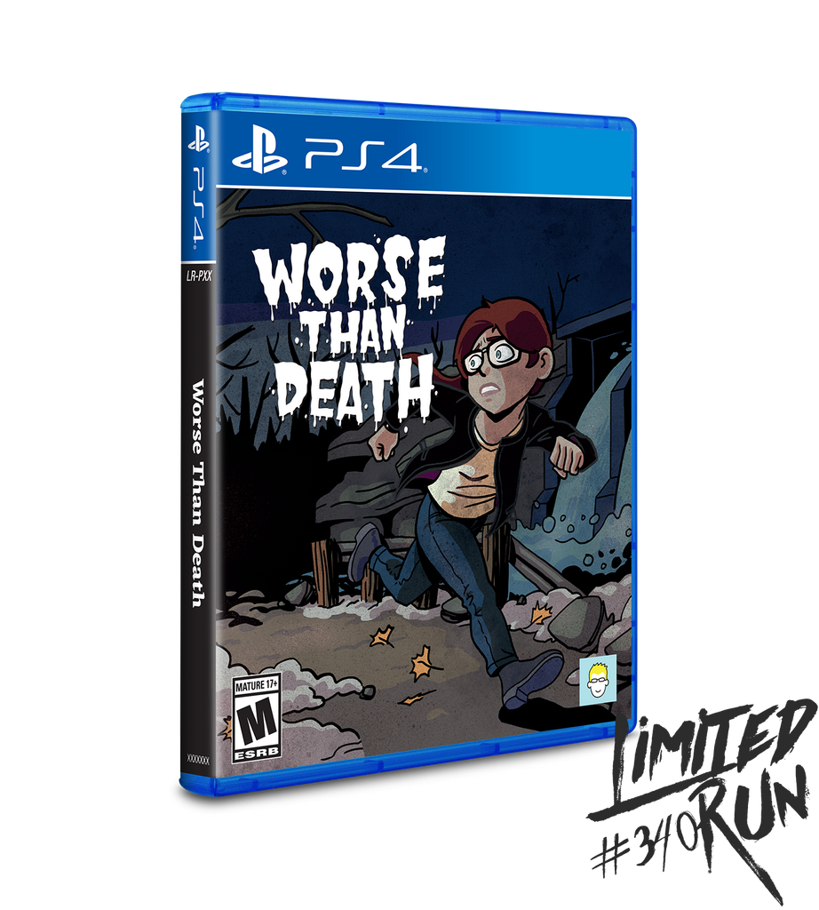 Limited Run #340: Worse Than Death (PS4)