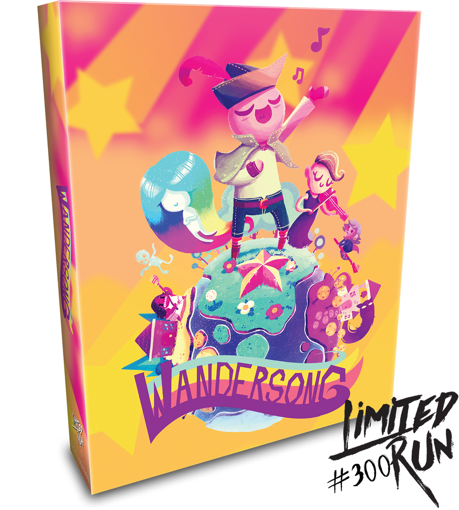Limited Run #300: Wandersong Pop-up Edition (PS4)