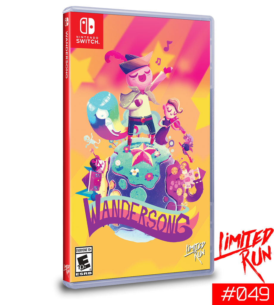 Switch Limited Run #49: Wandersong [PREORDER]