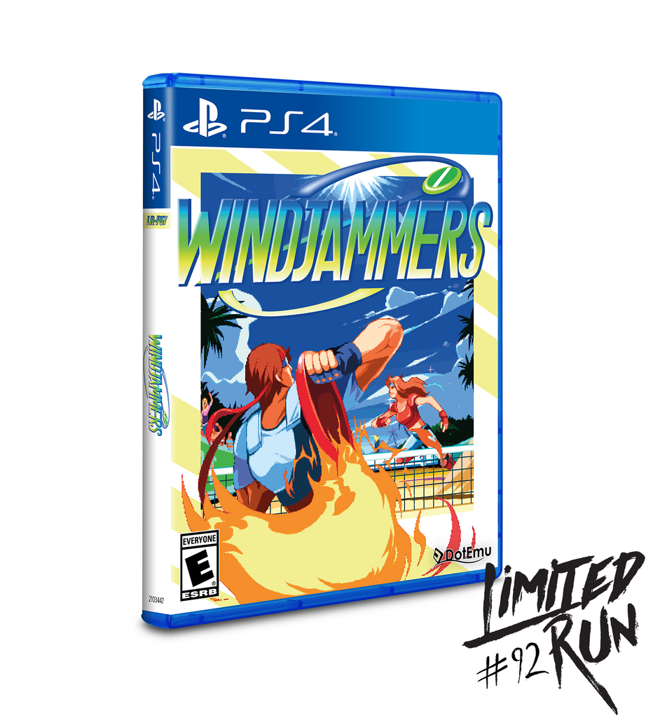 Limited Run #92: Windjammers (PS4)
